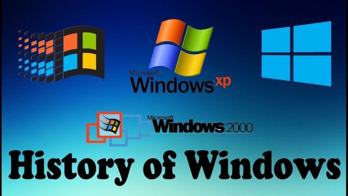 Istoriya Microsoft Windows - История Microsoft Windows