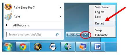Кнопка Пуск Windows Vista и 7