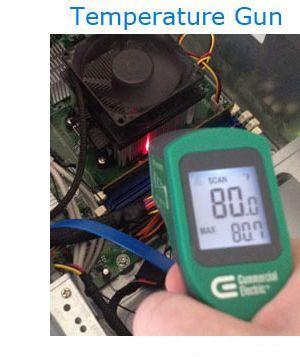 Теплоотдача процессора компьютера
