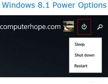 Zavershenie raboty v Windows 8 - Как выключить компьютер