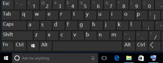Клавиши Windows 10