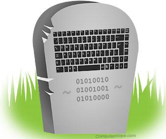 Мертвая клавиатура RIP
