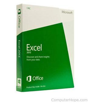 Microsoft Excel программное обеспечение