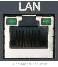 Ethernet LAN порт