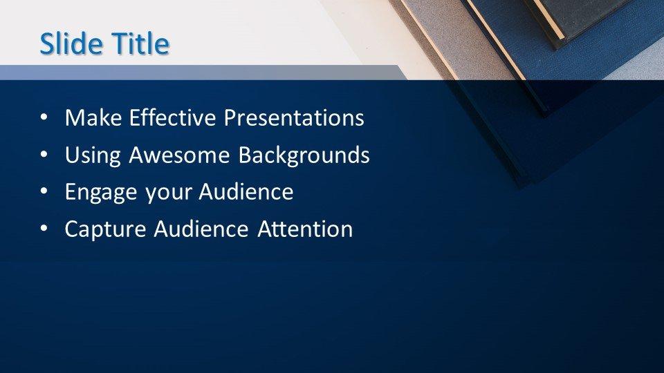 PowerPoint Knigi2 - Шаблон PowerPoint - Книги