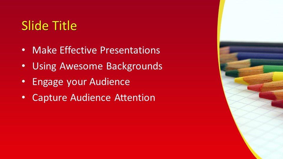 Powerpoint Karandashi3 - Шаблоны слайдов Powerpoint - Карандаши